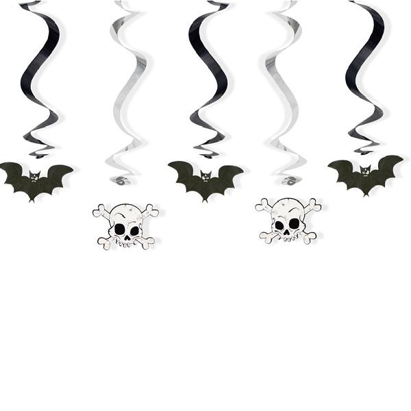 haengedeko-halloween-fledermaus-totenkopf