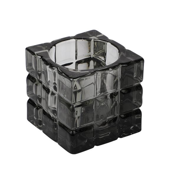 teelichthalter-wuerfel-grau