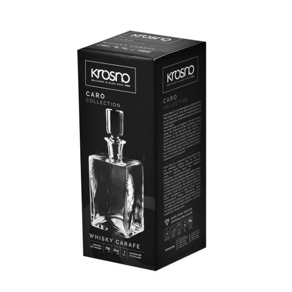"Whisky Karaffe ""Caro"" 750 ml"