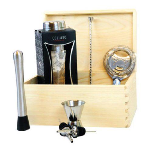 barkeeper-set-silver-8-teilig