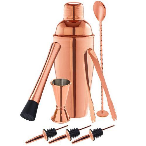 barkeeper-set-copper-8-teilig